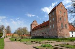 Het kasteel van Backaskog Stock Afbeelding