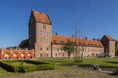 Het kasteel van Backaskog Royalty-vrije Stock Fotografie