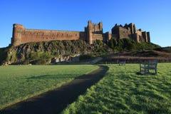 Het kasteel van Bamburgh royalty-vrije stock afbeelding
