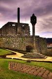 Het kasteel van Barcelos Royalty-vrije Stock Foto