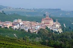 Het kasteel van Barolo Royalty-vrije Stock Fotografie