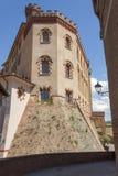 Het kasteel van Barolo, Piemonte royalty-vrije stock foto's