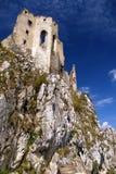 Het kasteel van Beckov Royalty-vrije Stock Fotografie