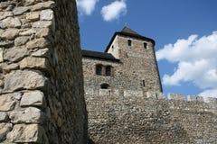 Het kasteel van Bedzin Stock Afbeeldingen
