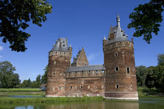 Het Kasteel van Beersel in Brussel royalty-vrije stock foto