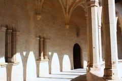 Het kasteel van Bellver stock foto's