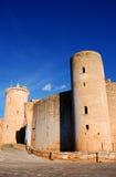Het Kasteel van Bellver (Majorca) Stock Foto
