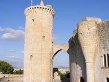 Het Kasteel van Bellver - Mallorca Royalty-vrije Stock Foto's