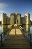 Het kasteel van Bodiam Stock Afbeelding