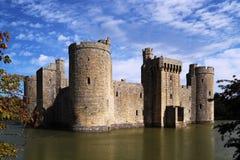 Het kasteel van Bodiam Stock Foto's