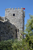 Het kasteel van Bodrum royalty-vrije stock foto