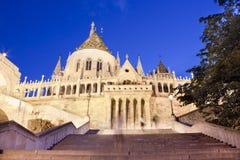 Het kasteel van Boedapest stock fotografie