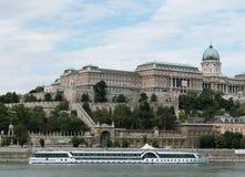 Het kasteel van Boedapest Royalty-vrije Stock Afbeeldingen