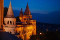 Het kasteel van Boedapest Royalty-vrije Stock Fotografie