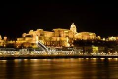Het kasteel van Boedapest Stock Foto