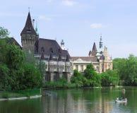 Het Kasteel van Boedapest Vajdahunyad Royalty-vrije Stock Afbeeldingen