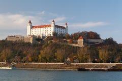 Het kasteel van Brastilava Stock Foto