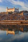 Het kasteel van Bratislava Stock Afbeeldingen