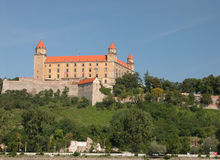 Het Kasteel van Bratislava Royalty-vrije Stock Foto's