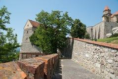 Het Kasteel van Bratislava stock foto's