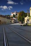 Het kasteel van Bratislava Royalty-vrije Stock Afbeeldingen