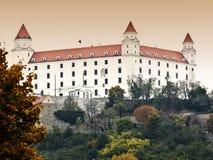 Het kasteel van Bratislava Royalty-vrije Stock Afbeelding