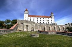 Het kasteel van Bratislava, Slowakije Stock Foto