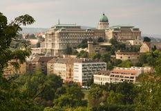Het kasteel van Buda Royalty-vrije Stock Afbeeldingen