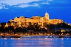 Het Kasteel van Buda in Boedapest Royalty-vrije Stock Afbeeldingen