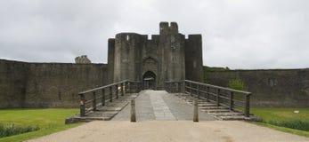 Het Kasteel van Caerphilly Royalty-vrije Stock Fotografie