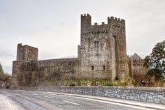 Het kasteel van Cahir in provincie Tipperary - Ierland. Stock Afbeelding