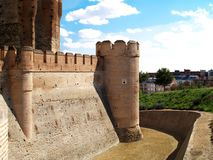 Het Kasteel van Campo´s van Medina, Spanje Royalty-vrije Stock Foto