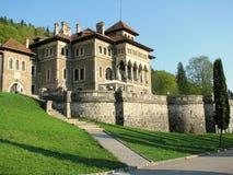 Het Kasteel van Cantacuzino royalty-vrije stock foto's