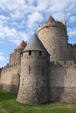 Het Kasteel van Carcassonne Stock Fotografie