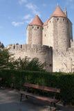 Het Kasteel van Carcassonne Royalty-vrije Stock Foto