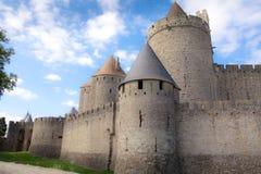 Het Kasteel van Carcassonne Royalty-vrije Stock Fotografie