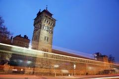 Het Kasteel van Cardiff stock afbeeldingen