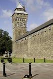 Het Kasteel van Cardiff stock foto