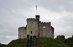 Het Kasteel van Cardiff stock foto's