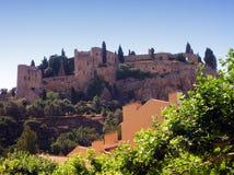 Het kasteel van cassissen - Frankrijk Stock Fotografie
