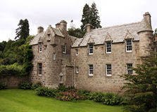 Het Kasteel van Cawdor in Schotland stock afbeeldingen