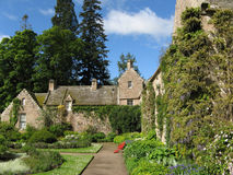 Het Kasteel van Cawdor van tuinen Royalty-vrije Stock Foto's