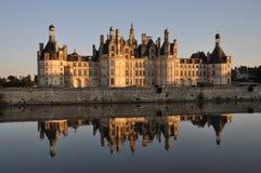 Het Kasteel van Chambord stock foto
