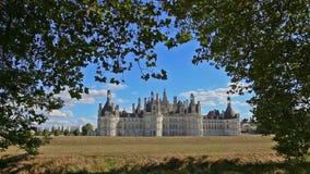 Het kasteel van Chambord stock video