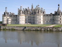 Het kasteel van Chambord Stock Afbeelding