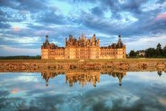 Het kasteel van Chambord Royalty-vrije Stock Foto's