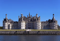 Het kasteel van Chambord royalty-vrije stock afbeeldingen