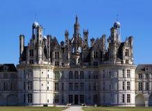 Het kasteel van Chambord stock afbeeldingen