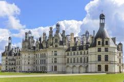 Het Kasteel van Chambord - Frankrijk stock afbeeldingen