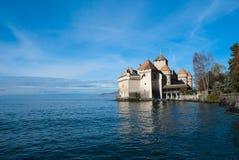 Het kasteel van Chillon Royalty-vrije Stock Afbeelding